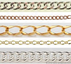 Jewelry Chains | must have to make jewelry