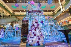 #Christmas tree on New Town Plaza Shopping Centre (hkdigit-20121126-185921) #HongKong