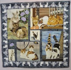 """""""Throughout One Day"""" by Miyoko Sekiya. 2015 Tokyo quilt show.  Photo by Julie Fukuda 