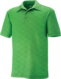 MAZE MEN'S PERFORMANCE STRETCH EMBOSSED PRINT POLO