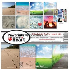 Reminisce Pawprints On My Heart - Collection Kit 12x12inch