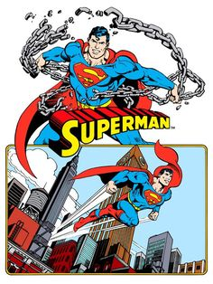 Superman from 1982 DC Comics Style Guide by José Luis García-López