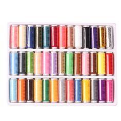 39-colors 402 재봉사 원사 강한 내구성 스레드 바느질 손 바느질 기계 원사 뜨개질 액세서리 바느질