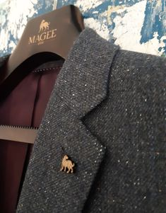 When you see the Irish Wolfhound, you know it's Magee 1866 Irish Wolfhound, Donegal, Weekend Wear, Tweed Jacket, Hand Weaving, Women Wear, Casual, How To Wear, Collection