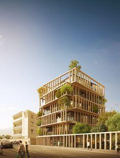 URBAN AGENCY projeta edifício residencial de luxo que em Montpellier