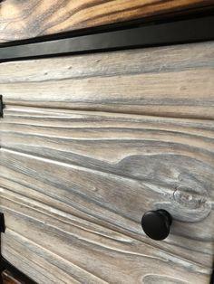 Kallax hack with Shou Sugi Ban style pine doors, drawers & cladding Ikea Kallax Shelving, Kallax Hack, Pallet Furniture, Furniture Ideas, Pine Doors, Headboards, Cladding, Beds, Drawers