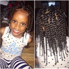"""1,516 Likes, 36 Comments - D'Asia & RyLei Kai  (@iamawog) on Instagram: """"And then there were ponytails & twist (and beads)  My FAVORITE go-to low/easy maintenance…"""""""