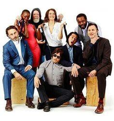 The Walking Dead Season 4 cast.