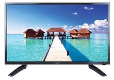 Supersonic SC-3210 32-Inch 1080p LED Widescreen HDTV with HDMI Input 32 Inch Tv, Brow Serum, Remy Hair Wigs, Tv Reviews, Natural Waves, Noise Reduction, Card Reader, Sd Card, Tvs
