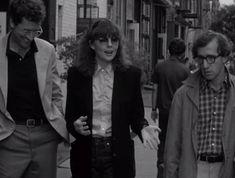 Diane Keaton in Woody Allen films: the epitome of menswear sensibility. via TomboyStyle.com