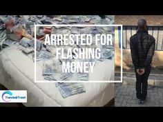A video of a man who got arrested for posting money on social media Sewing Sleeves, Advertising, Social Media, Money, Videos, Youtube, Social Networks, Video Clip, Sewing Machines