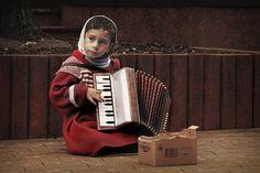 little accordionist 2 by Lenka Samardzic on 500px