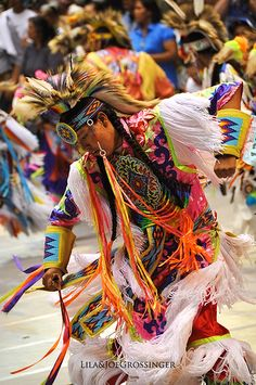 Colorful Indian Dancer, via Flickr.