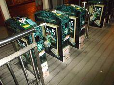 ERA Kolejleri outdoor tanıtımları Haramidere- Beylikdüzü/Tüyap Arası Metrobüs Turnikelerinde...