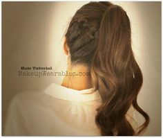 Hair Tutorial | Cute braided, poofy ponytail hairstyles & updos