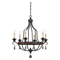 Savoy House Kelsey 1-8901-6-41 6 Light Chandelier - 1-8901-6-41