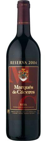Rioja Reserva 2008 Marqués de Cáceres [£15.99]
