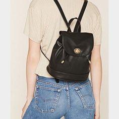 788a00ee276e Small Black Backpack Mini Backpack Purse