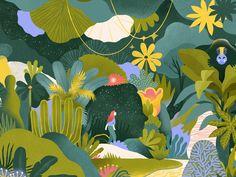 illustration for miro mind mystery fantasy flower space universe psychology monkey palm plants girl jungle Plant Illustration, Monkey Illustration, Cool Artwork, Illustration, Graphic Design Illustration, Organic Art, Space Illustration, Flower Graphic Design, Flower Graphic
