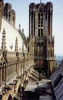 Reims, France - Cathedral