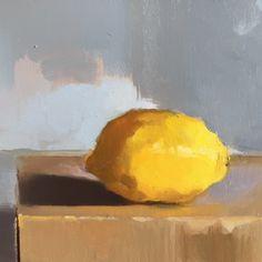 Citron sur une boite – Lemon on a box
