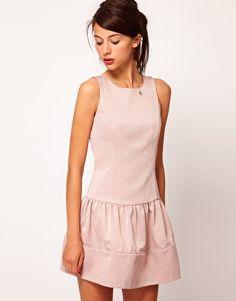 Warehouse Drop Waist Dress