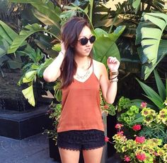 Lush Crochet Shorts, Trend Envy