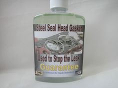 Steel Seal Head Gasket Repair..Confirm UK Trade Mark Standard...Guarantee,,500ML