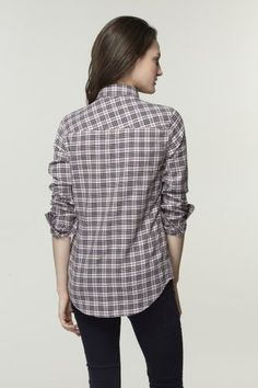 #Lacoste L!VE Long Sleeve #Check #Shirt