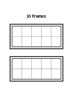 Name In a Ten Frame