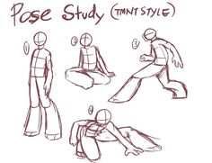 Pose study by GolzyBlazey on DeviantArt