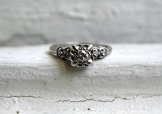 love antique style rings