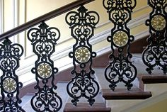 Олег Еверзов Classic Fence, Grill Gate, Balcony Railing Design, Front Elevation Designs, Fence Doors, Iron Steel, Grand Staircase, Stairways, Wrought Iron