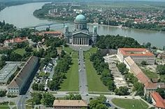 Esztergom, across the Danube from Slovakia Heart Of Europe, Danube River, World Cities, Central Europe, Homeland, Places To See, Scenery, Around The Worlds, Budapest