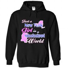 Design2 Just a New York Girl in Mississippi World - #hoodie novios #long sweater. SATISFACTION GUARANTEED => https://www.sunfrog.com/States/Design2-Just-a-New-York-Girl-in-Mississippi-World-7895-Black-Hoodie.html?68278