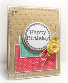 Card by Candace Pierce using Big Greetings by MFT Stamps