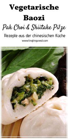 Vegetarische Baozi Füllung — Ting Ting's Nest