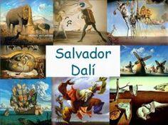 Leuke en informatieve powerpoint over Salvador Dali voor 5, deze en nog vele andere kun je downloaden op de website van Juf Milou. Salvador Dali, Round Robin, Art Worksheets, Teaching Art, Famous Artists, Graphic Design Illustration, Picasso, Art Education, Art Forms