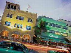 Art deco architecture South Beach Miami