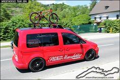 Red VW Caddy Slowthing | 相片擁有者 Retro-Motoring & WoertherseePics