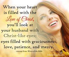 Having Christ-like eyes in marriage