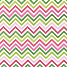 Robert Kaufman Remix Zig Zag in Pink and Green