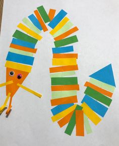 Easy Crafts For Kids, Cute Crafts, Toddler Crafts, Alphabet Crafts, Letter A Crafts, Paper Windmill, Sheep Crafts, Spider Crafts, Egg Carton Crafts