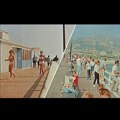 ✭California Dreamin' 1960's Style✭  Ventura Pier, Ventura, California Image shared by San Buenaventura Conservancy