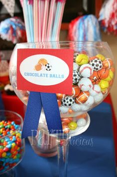 All Star Sports Themed Baby Shower ideas