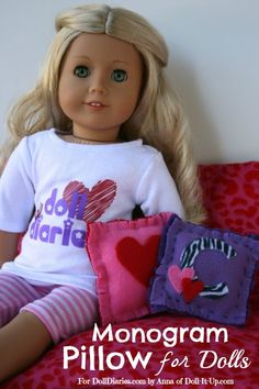 Doll Craft-Decorative Pillows — Doll Diaries