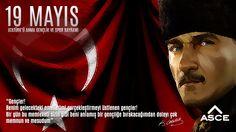19 Mayıs Atatürk'ü Anma Gençlik ve Spor Bayramımız Kutlu Olsun..