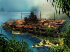 It is now coming out the new and improved game for having fun. Far cry 3 release date is close. This is the best shooter game for all ages. Concept Ships, Concept Art, Post Apocalyptic City, Apocalypse Art, City Landscape, Car Drawings, Futuristic Architecture, End Of The World, Sci Fi Fantasy