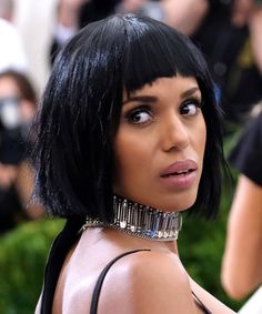 Kerry Washington | See all of the best beauty looks from the 2017 Met Gala red carpet.