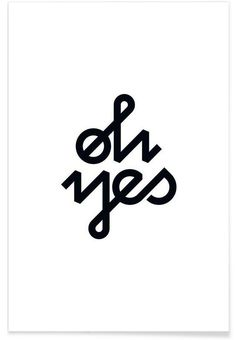 Oh Yes by BLAEK Design Studio